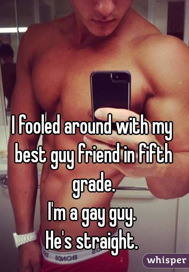 Guy fooled and gay