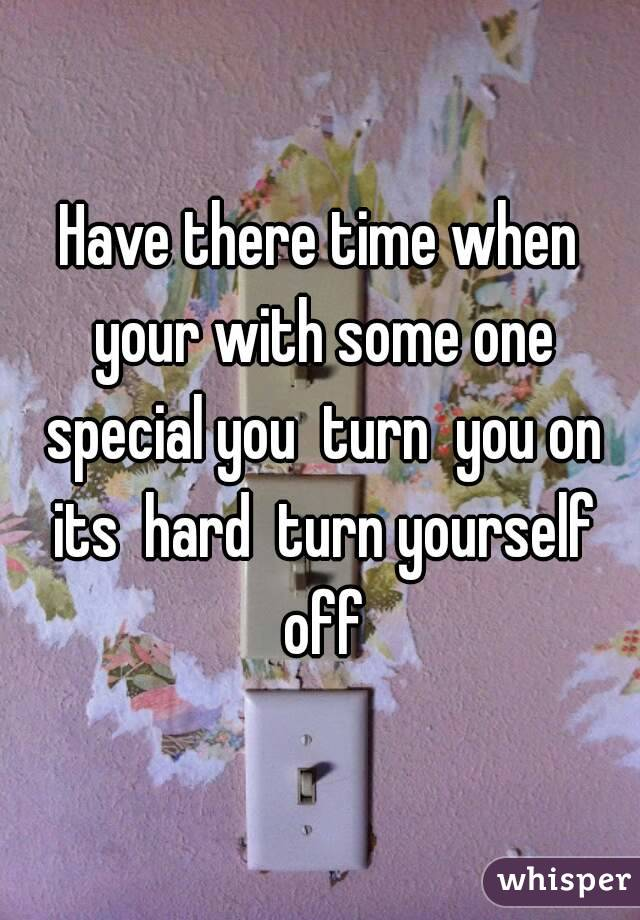 how to turn yourself off