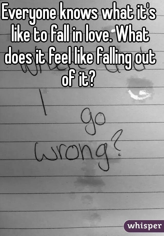 What Does Falling In Love Feel Like