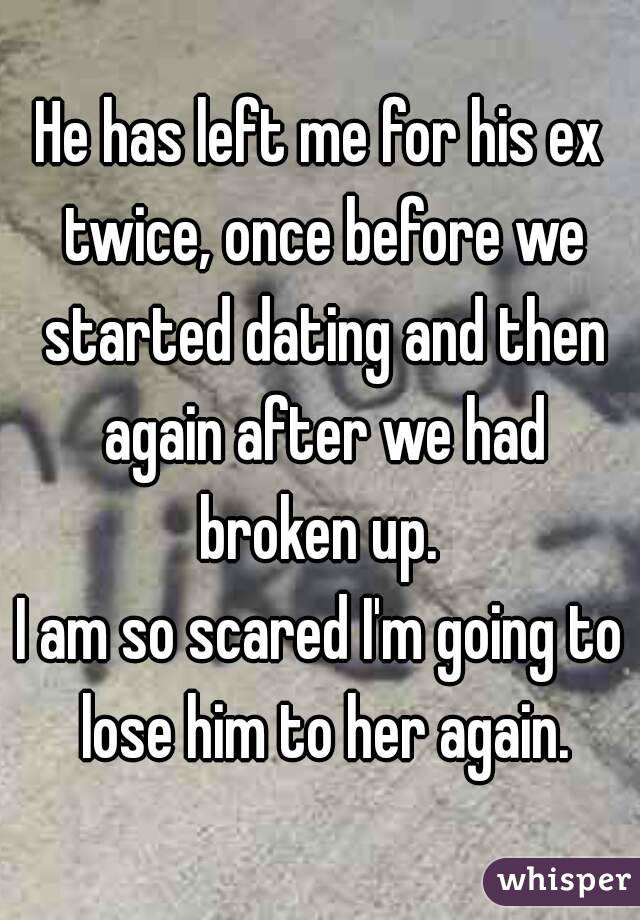 He is dating his ex again