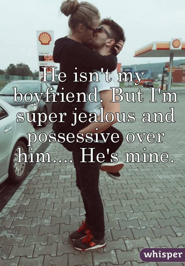 Possessive jealous boyfriend