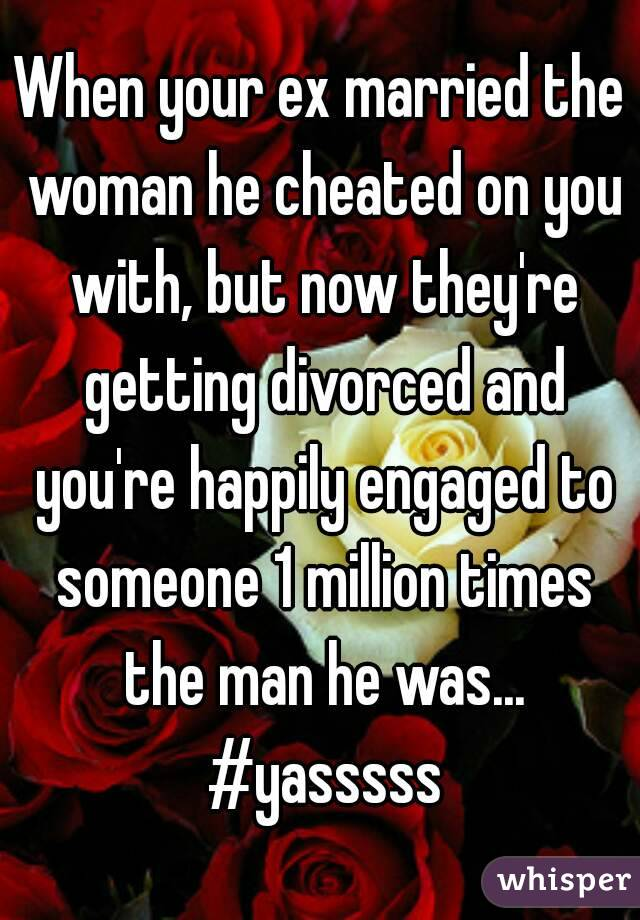 engaged man cheating