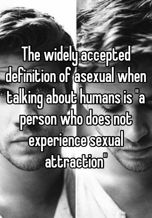 Asexual definition for humans