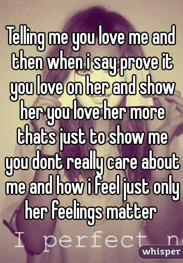How To Say That You Love Her