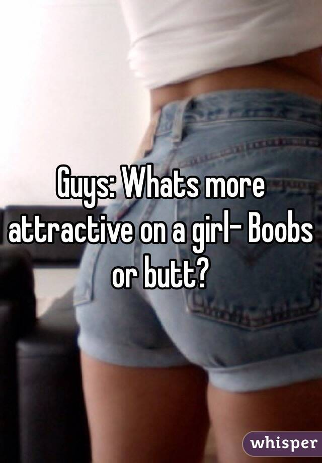Why Are Girls Butts So Attractive