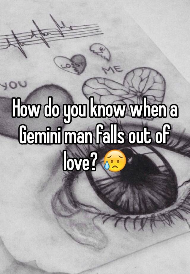 How to know when a gemini man loves you