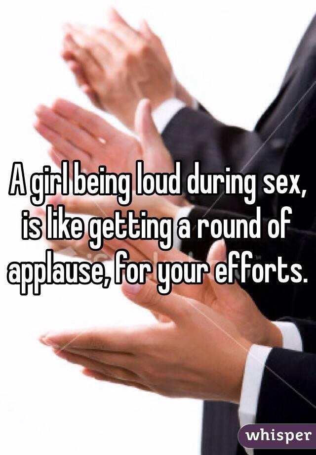 Women loud during sex