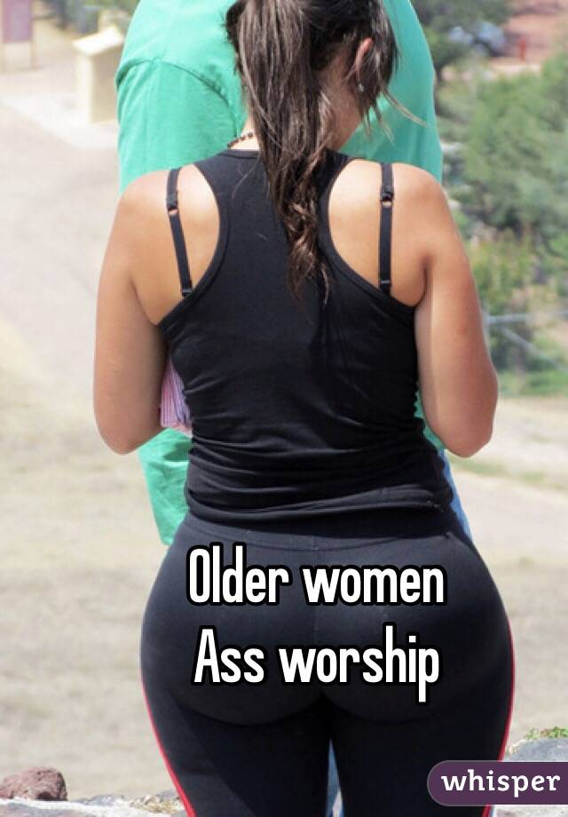 Point of view ass worship