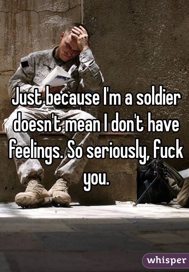 Fuck A Soldier