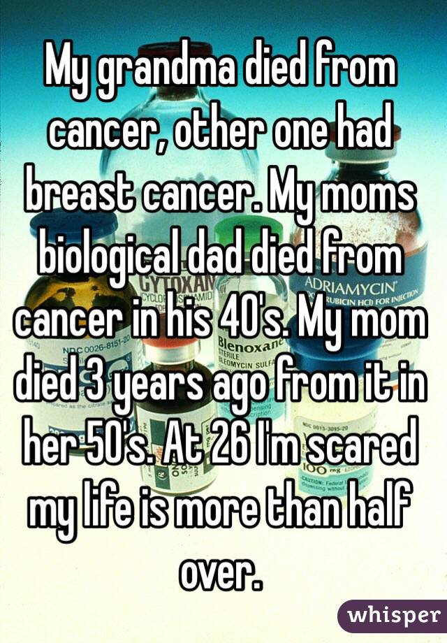 my mom died from cancer My mom died friday evening nov 2 she was diagnosed 14 weeks ago with non small cell squamus cell after an initial hospitalization with some problems, she was doing well after having been through 1 round of radiation (5 times weekly for 6 weeks.