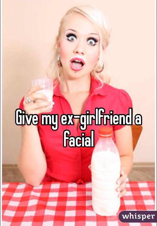 Girl face farting on guy