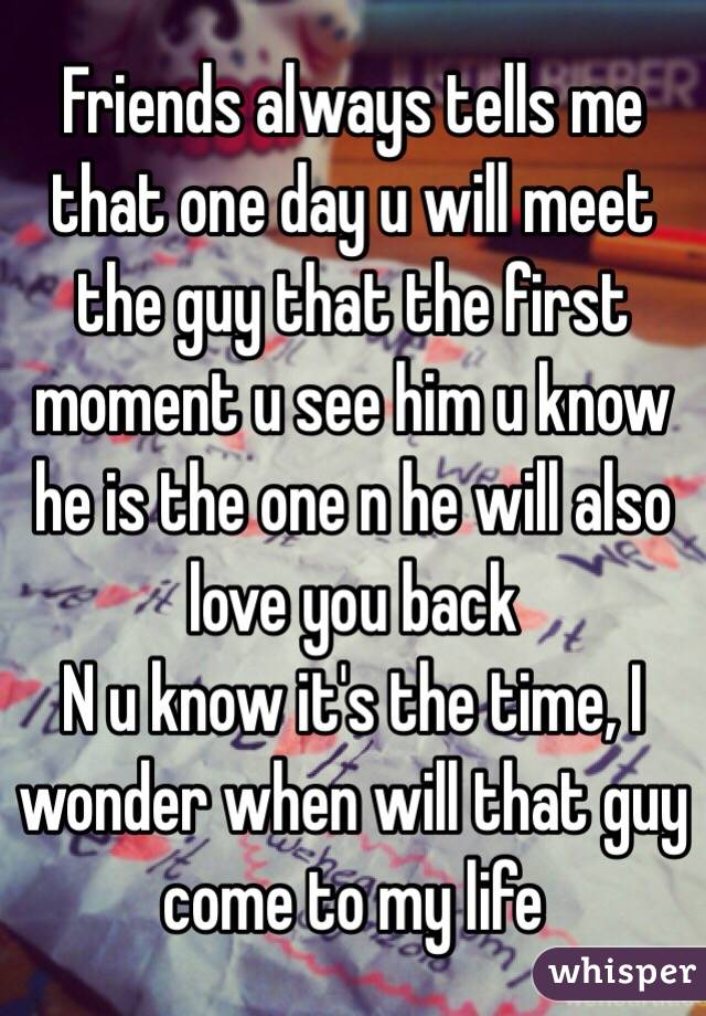 How to know that a guy loves u