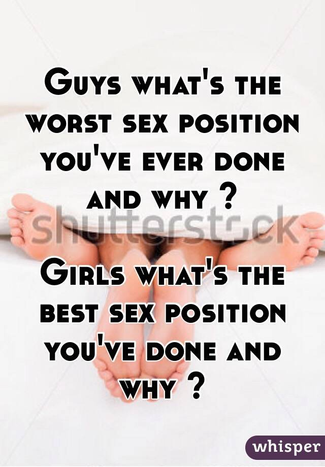 What Sex Position Do Girls Like