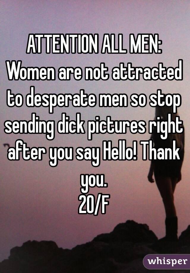 why are women so desperate