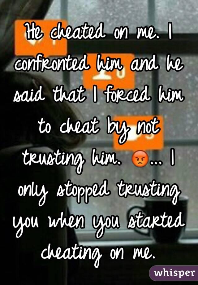 He Cheated On Me What Do I Do