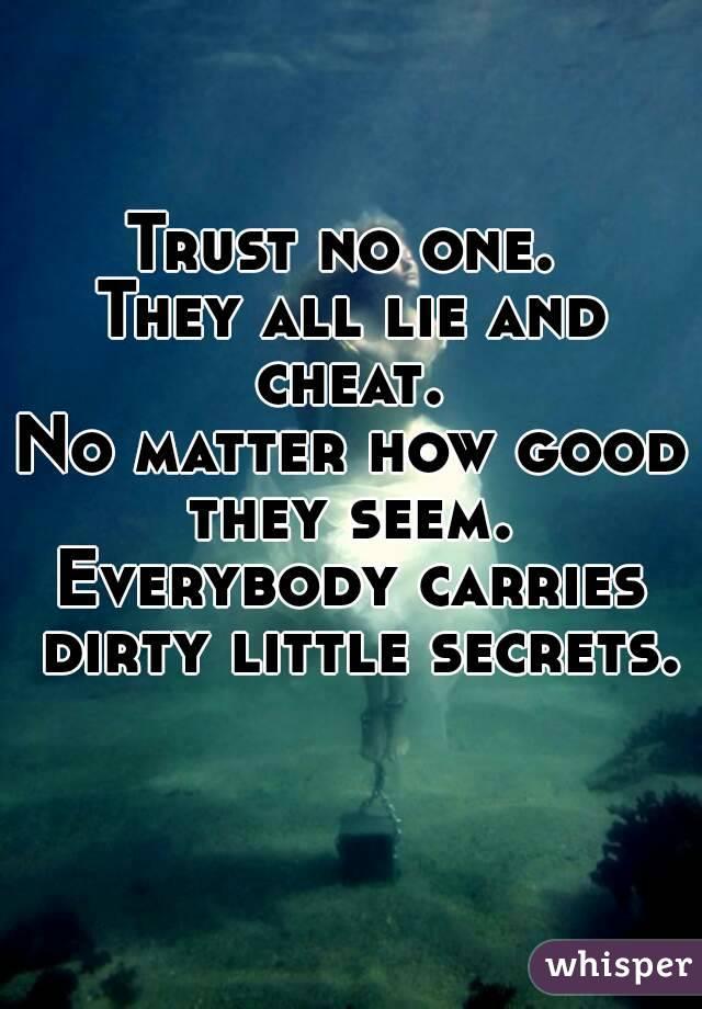 TRUST, Amazing Little Secrets
