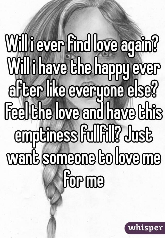 Does everyone find love