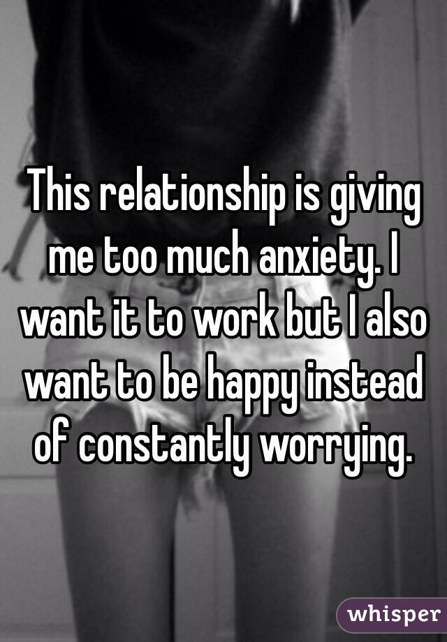 Giving too much in a relationship