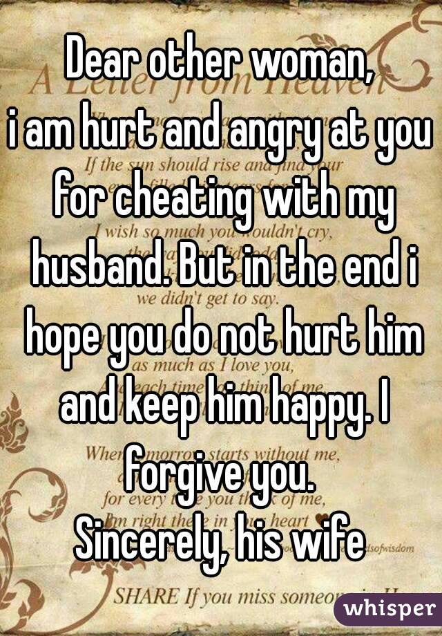 How To Forgive My Husband For Cheating