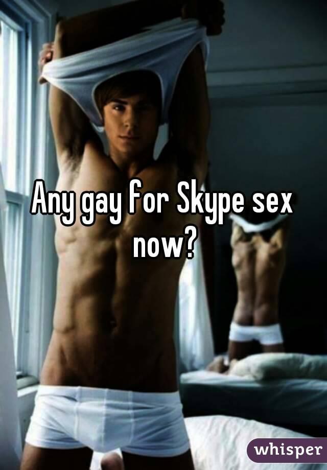 skype gay sex