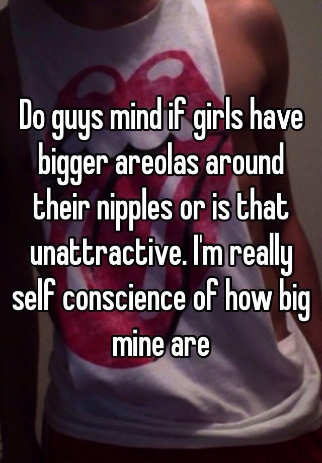 Do men like large areolas