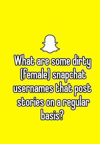 Dirty snapchat finder