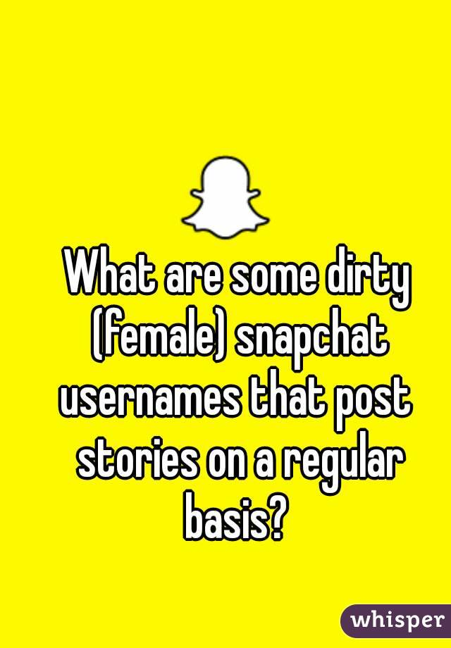 Dirty snapchat pictures