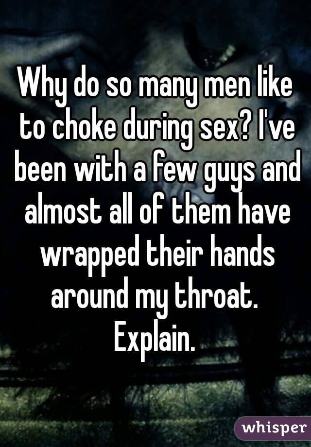 Why do men want so much sex