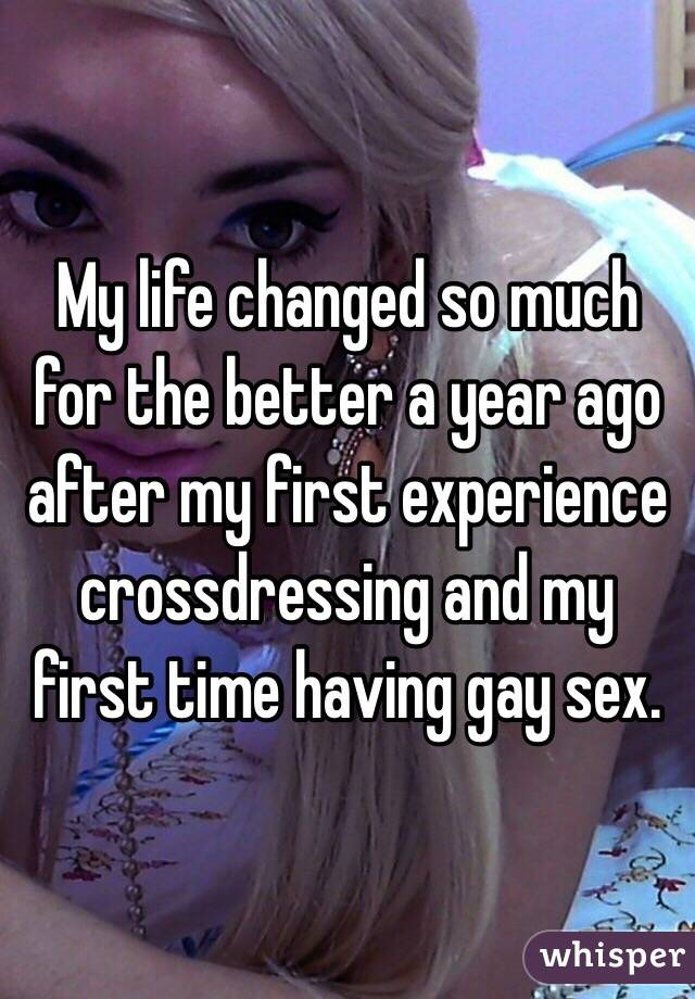 First time gay experience