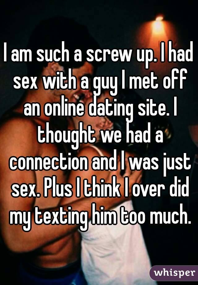 Dating sites just for sex