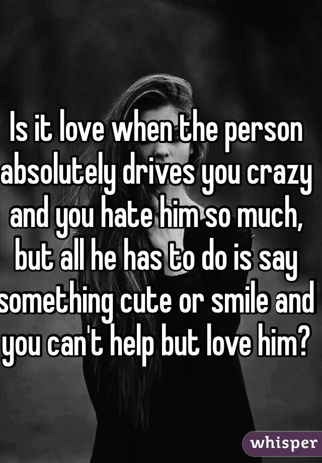 When to tell a man you love him