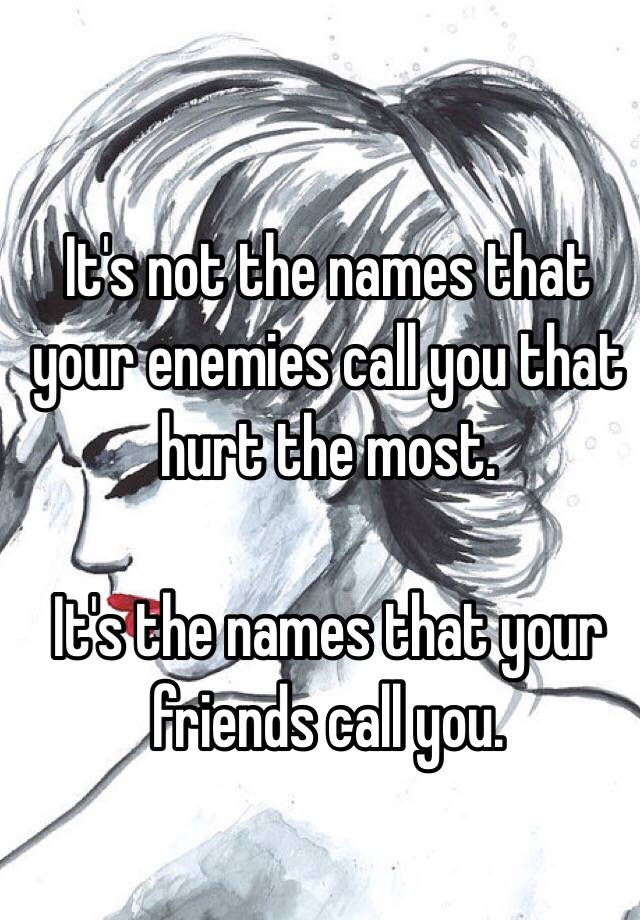 names to call your friends
