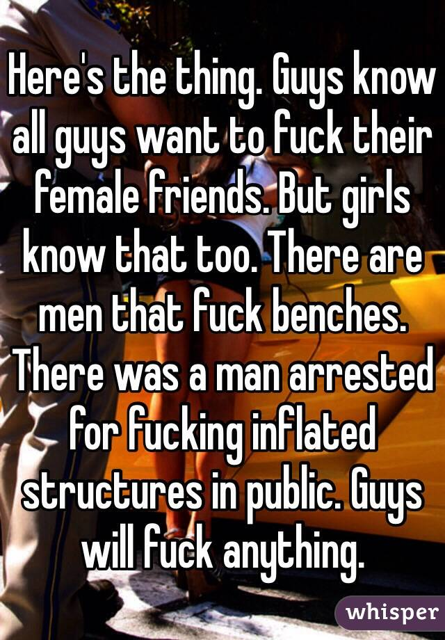 in Girls anything will public do