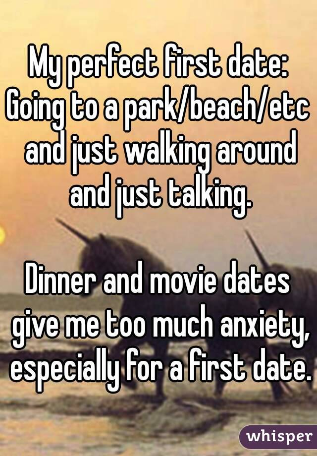 Perfect first date