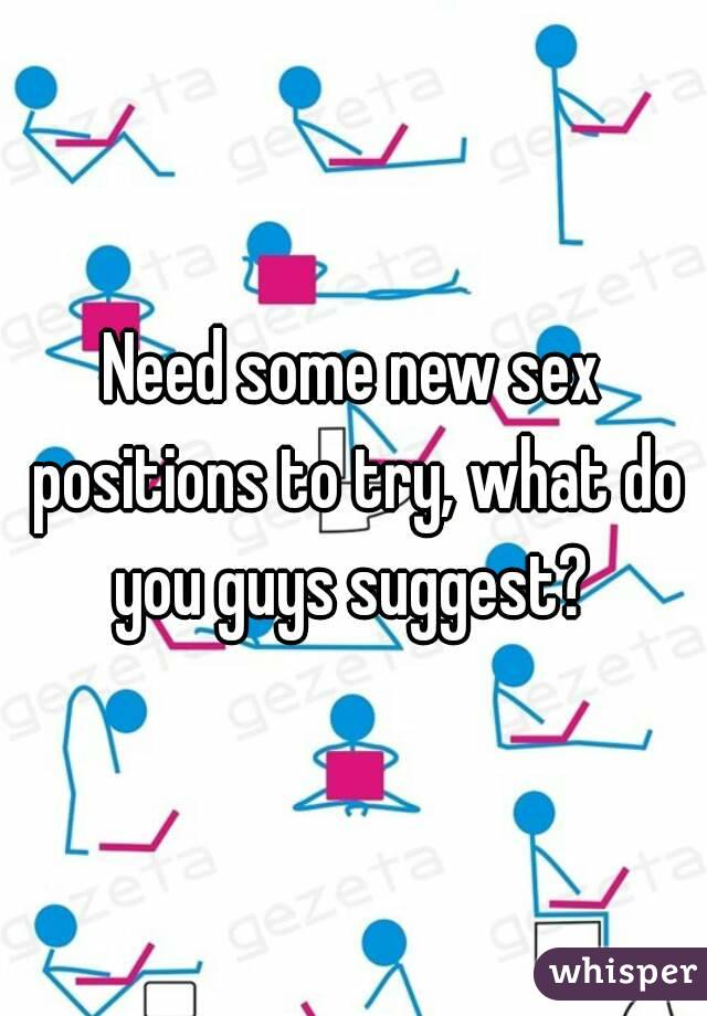 What are some sex positions