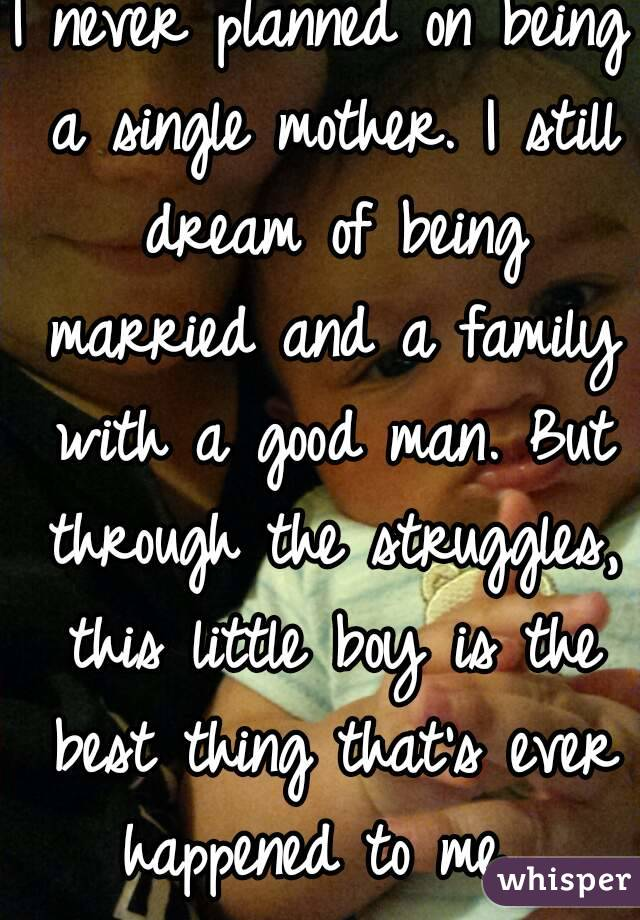 single man marrying a single mom