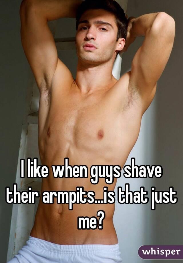 Phrase brilliant armpit shaved male are