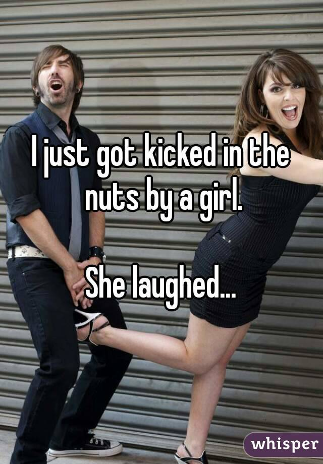 Kicked In The Nuts By A Girl