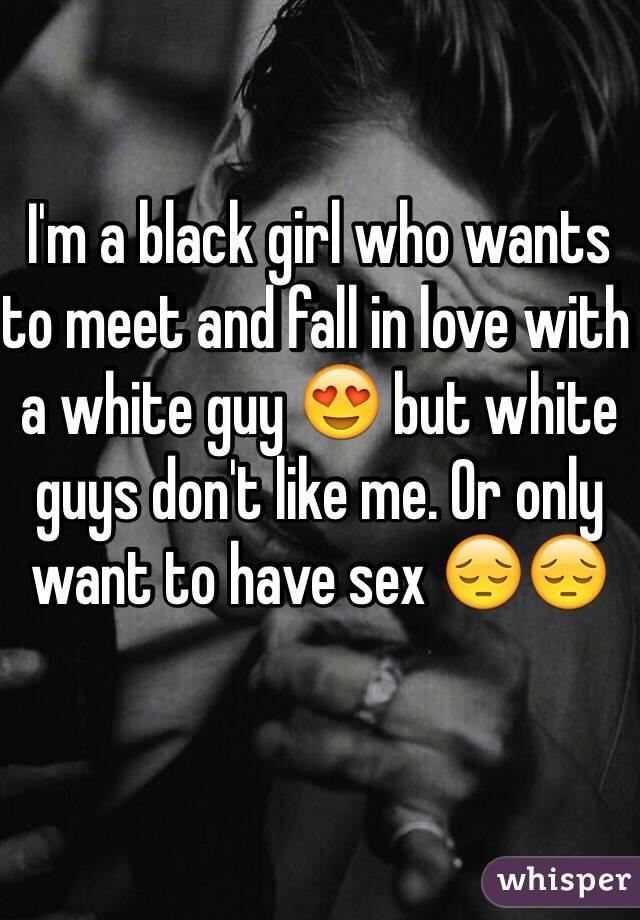 White guys dont like me