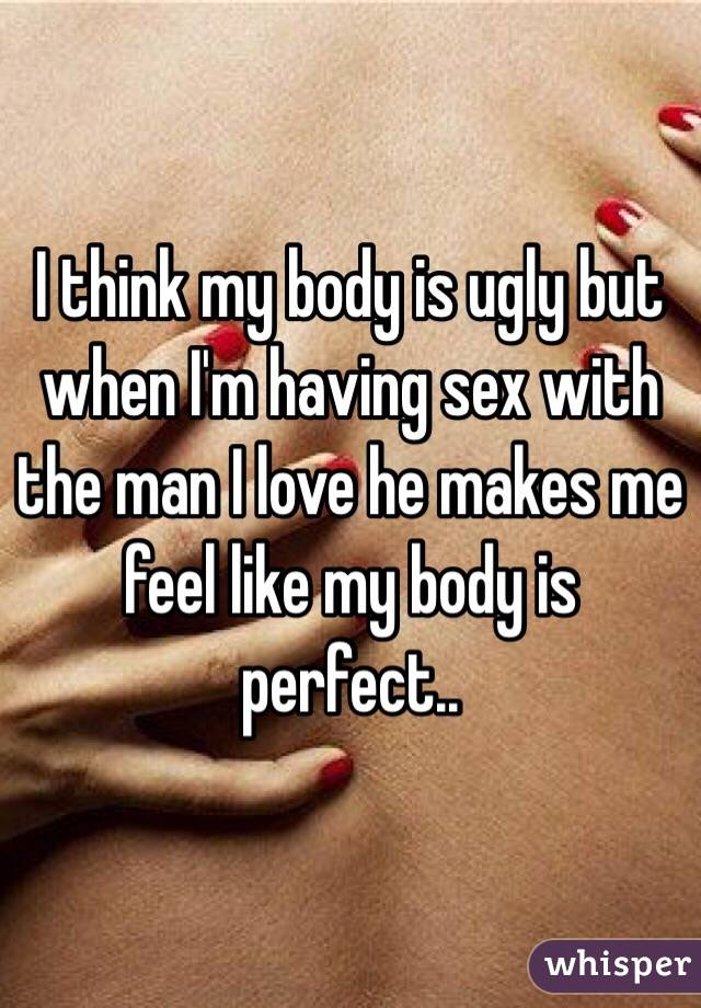 What does making love feel like for a man