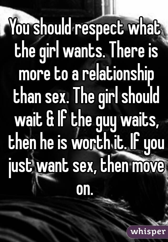 what does a girl want out of a relationship
