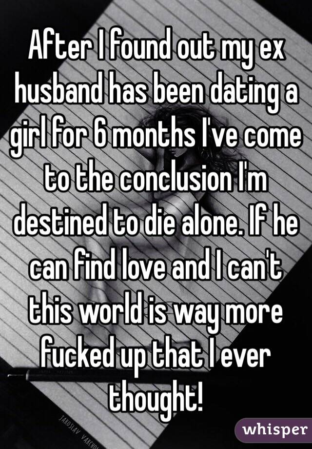 Dating 6 months not in love