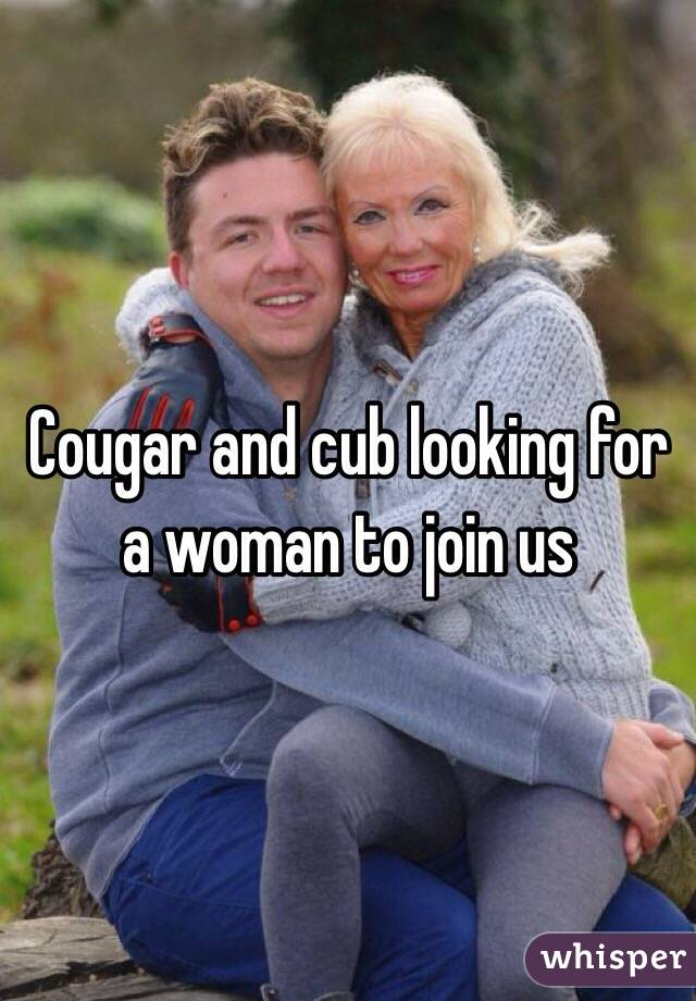 Looking for a cougar woman