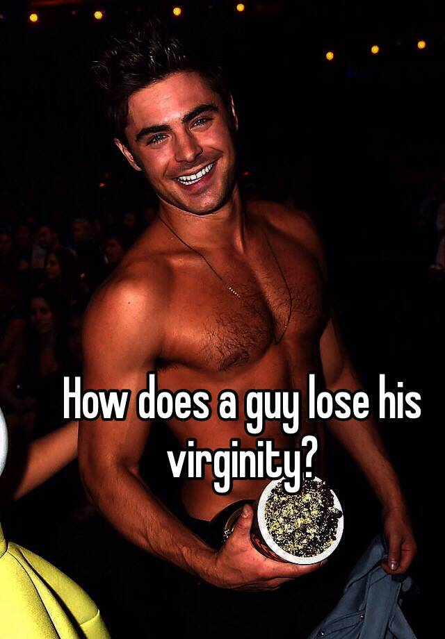 Male losing his virginity