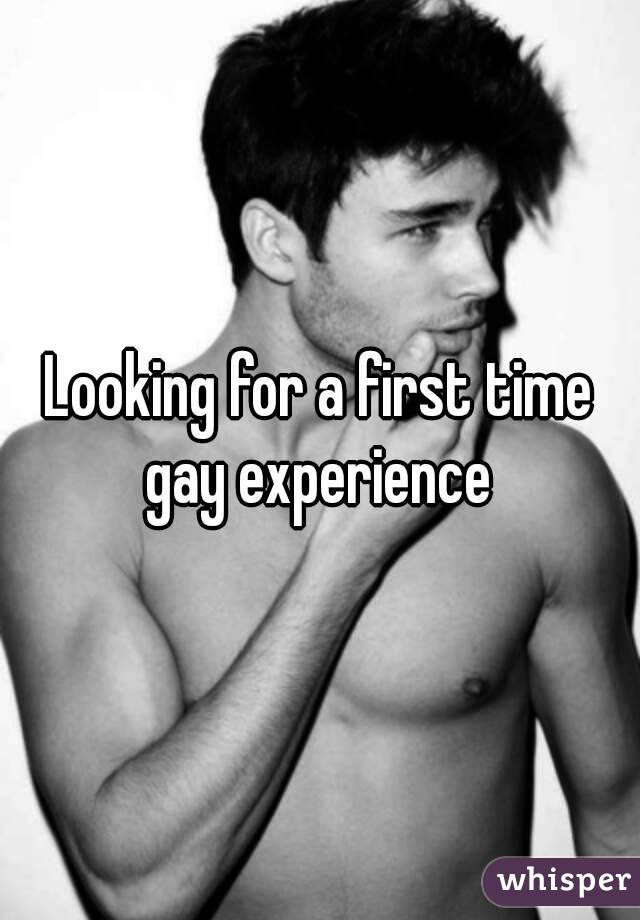 gay Forst time