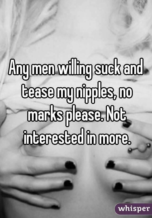 nipple suck my