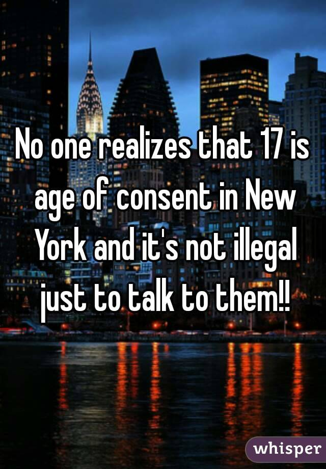 Age limit for dating in new york