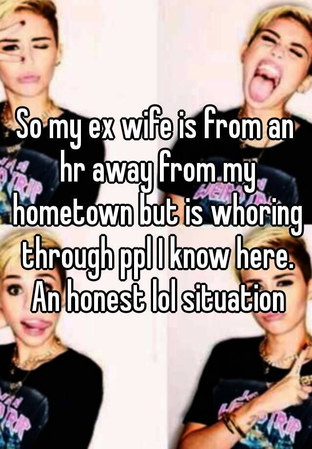 whoring out my wife