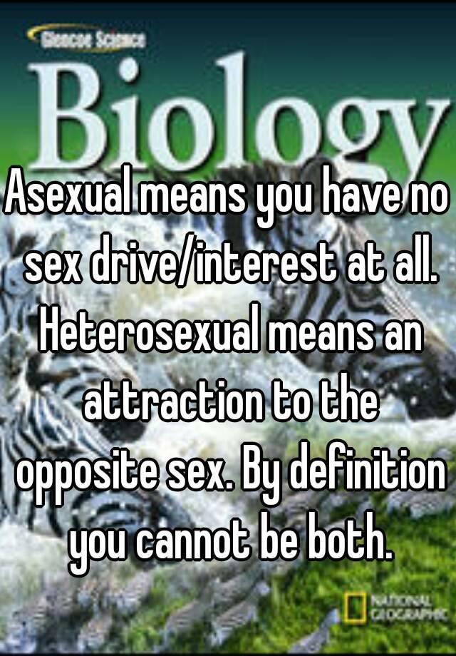 Heterosexual definition opposite