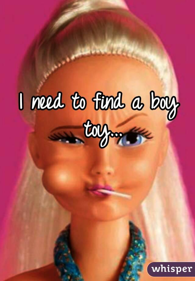 I Need To Find A Boy Toy